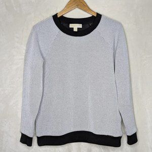 Micheal by Micheal Kors Bubble Knit Crew Neck Sz M